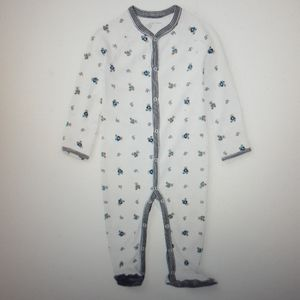 Ralph Lauren NWOT Baby Boy  Footed Coverall
